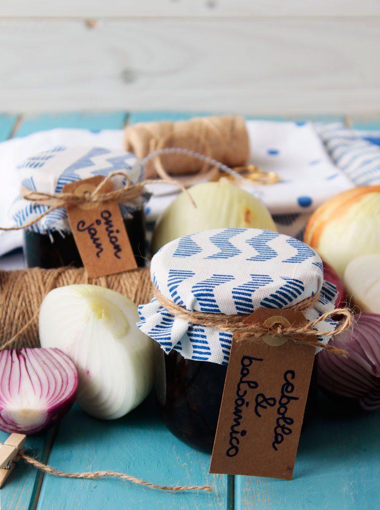 Mermelada de cebolla y vinagre balsamico de Módena